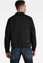 G-Star RAW - Trucker jacket - dk black