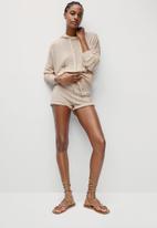 MANGO - Sweater tobias - neutral