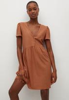 MANGO - Dress thalia - orange
