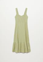 MANGO - Dress onia - green