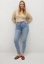 Violeta by Mango - Plus jeans lorena - blue