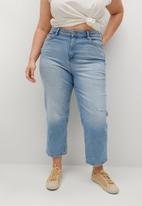 Violeta by Mango - Plus jeans elia - blue