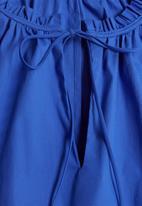 MANGO - Dress deep - blue