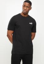 PUMA - Ess small logo tee - black