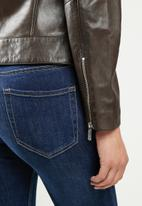 POLO - Hilton quilted leather jacket - brown