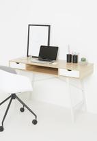 Sixth Floor - Cale desk - white