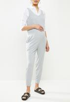 Superbalist - Soft slim leg jumpsuit - grey
