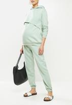 Superbalist - Nursing hoodie - sage
