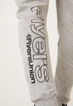 Flyersunion - Panel jogger - grey melange