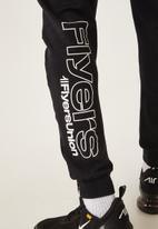Flyersunion - Panel jogger - black