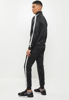 Lonsdale - Angels entry tracksuit - black & white