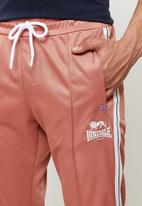 Lonsdale - Angels entry tracksuit - pink & white