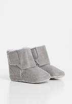 POP CANDY - Baby snuggle booties - grey