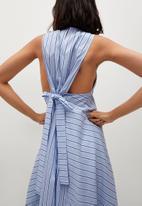 MANGO - Dress iena - blue