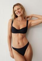 MANGO - Bikini bottom bora - black