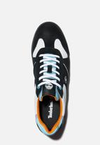 Timberland - Miami coast fabric sneaker - black & blue