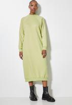Superbalist - The ultimate sweat dress - pale green