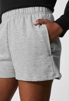 Superbalist - 2 pack jogger shorts - black & grey