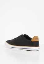 POLO - Hudson side flash sneaker - black