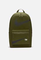 Nike - Nike heritage backpack - swoosh - rough green/black