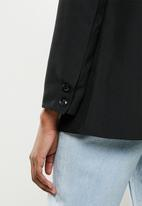 STYLE REPUBLIC - Longline blazer - black