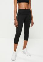 STYLE REPUBLIC - Seamfree 7/8 leggings with cuff - black