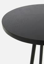 Sixth Floor - Gus side table - black