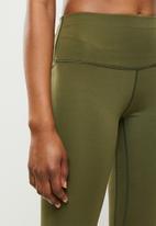 STYLE REPUBLIC - Seamfree full length leggings - khaki