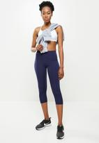 STYLE REPUBLIC - Seamfree 7/8 leggings with cuff - navy