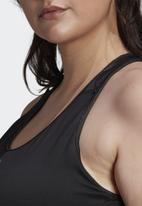 adidas Performance - Drst glam active bra - black