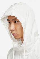 Nike - Nsw swoosh wvn lnd jkt - sail/light bone/light bone
