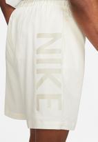Nike - Nsw short waffle 2 - sail/light bone