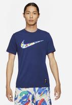 Nike - Mens Nike df tee a.i.r. 1 - blue void