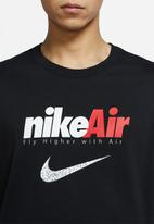 Nike - M nsw tee ls swoosh by air gx - black