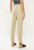 ONLY - Aia highwaist string pant - white pepper