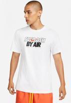 Nike - Nsw tee swoosh by air gx 3 - white