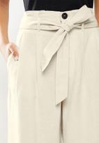ONLY - Aminta-viva life highwaist culotte pant - pumice stone