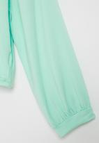 Superbalist - Girls upstyled printed tee - mint