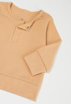 POP CANDY - Baby loungewear top & pants set - beige