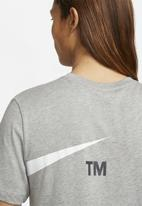 Nike - Nsw tee stmt gx - dark grey heather