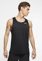Nike - Nike breathe run tank - black