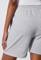 Superbalist - Longer jogger shorts - light grey melange