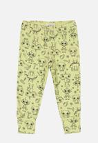 UP Baby - Printed pants - yellow