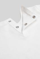 MANGO - T-shirt skater - white