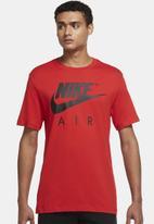 Nike - M nsw tee nike air gx hbr - university red
