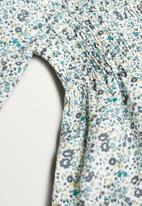 MANGO - Dress blume - blue