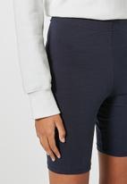 Superbalist - 2 pack cycle shorts - black & ink