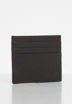 Timberland - Mulch credit card holder - black