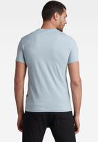 G-Star RAW - Raw. slim T-shirt - faze blue