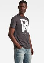 G-Star RAW - Graphic raw T-shirt - raven